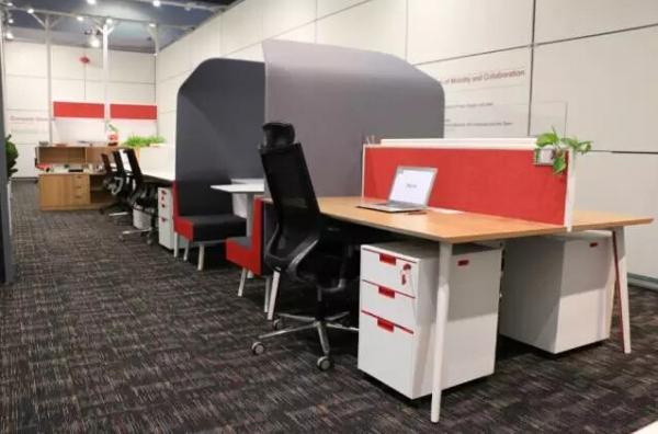 """欧林办公室家具展馆,要的就是""""让你融入到环境中"""""""